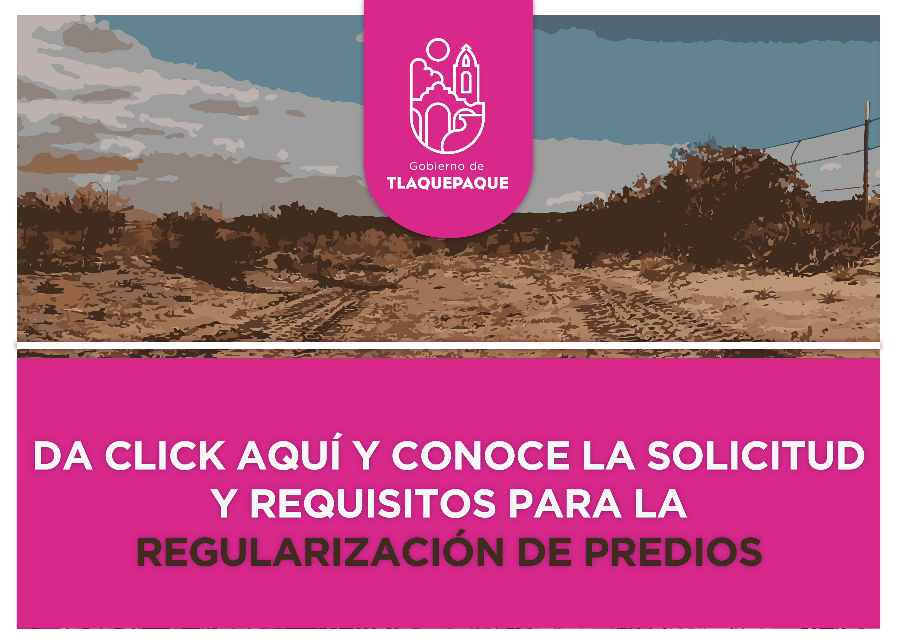 Solicitud y requisitos para la regularización de predios
