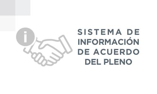 Sistema de información de acuerdo del pleno